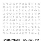 set of vector line icons of...   Shutterstock .eps vector #1226520445