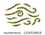 christmas decorations withholly ... | Shutterstock .eps vector #1226528818