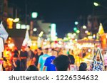 abstract blur and defocused... | Shutterstock . vector #1226534632