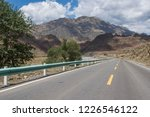 wild field highway  | Shutterstock . vector #1226546122
