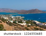 panoramic view at mirabello bay ... | Shutterstock . vector #1226553685
