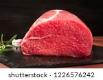a photo of eye round beef  a... | Shutterstock . vector #1226576242