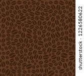 brown seamless pattern with... | Shutterstock .eps vector #1226580622
