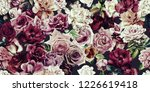seamless floral pattern with... | Shutterstock . vector #1226619418
