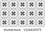 black and white textured... | Shutterstock . vector #1226620375