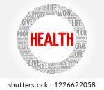 health word cloud collage ... | Shutterstock . vector #1226622058