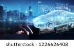 businessman on blurred... | Shutterstock . vector #1226626408