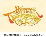 beautiful handwritten text on a ... | Shutterstock .eps vector #1226632852