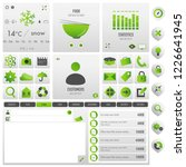 navigation set for business | Shutterstock .eps vector #1226641945