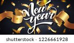 happy new year  winter holiday... | Shutterstock .eps vector #1226661928