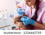 platelet rich plasma injection... | Shutterstock . vector #1226662735
