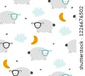 seamless pattern with cute... | Shutterstock .eps vector #1226676502