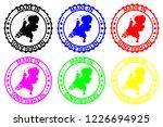 made in netherlands   rubber... | Shutterstock .eps vector #1226694925