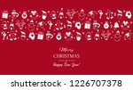 greeting card or banner with... | Shutterstock .eps vector #1226707378