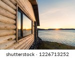 Wooden House With Beautiful...