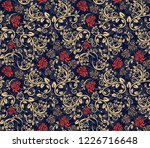 abstract floral pattern... | Shutterstock .eps vector #1226716648