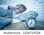 sweet sleepless little girl... | Shutterstock . vector #1226719228