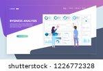 modern flat design concept of... | Shutterstock .eps vector #1226772328