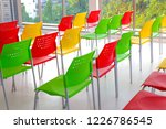 colorful chair in meeting room. | Shutterstock . vector #1226786545