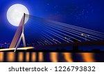 suspension bridge in thailand....   Shutterstock .eps vector #1226793832