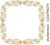floral frame. vector... | Shutterstock .eps vector #1226798275