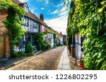 charming houses in beautiful ...   Shutterstock . vector #1226802295