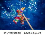mexican pi ata party hanging on ... | Shutterstock . vector #1226851105