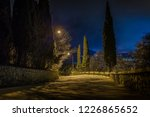 street lights and descent to... | Shutterstock . vector #1226865652