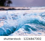 beautiful crystal clear blue... | Shutterstock . vector #1226867302