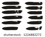 calligraphy paint brush lines... | Shutterstock .eps vector #1226882272