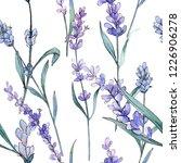 purple lavender. floral... | Shutterstock . vector #1226906278