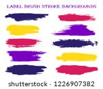 cool label brush stroke... | Shutterstock .eps vector #1226907382