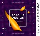 geometric gradient purple...