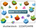 isometric game nature concept... | Shutterstock .eps vector #1226914498