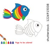 Rainbow Object Fish To Be...