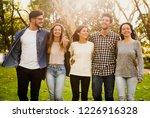 group of friends having  a... | Shutterstock . vector #1226916328