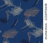 various pen hatches. seamless...   Shutterstock .eps vector #1226953648