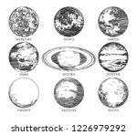 vector illustration of a solar...   Shutterstock .eps vector #1226979292
