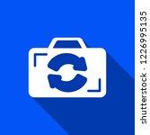 flip camera icon with shadow  ...