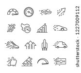 vector illustration set of... | Shutterstock .eps vector #1227009112