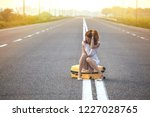 problems in the journey. the... | Shutterstock . vector #1227028765