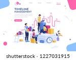 document management  team... | Shutterstock . vector #1227031915
