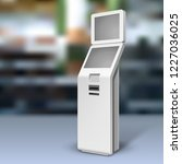 mockup payment information... | Shutterstock .eps vector #1227036025
