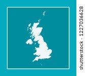 vector map of britain   Shutterstock .eps vector #1227036628