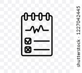testing vector linear icon... | Shutterstock .eps vector #1227042445