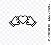 unity vector linear icon... | Shutterstock .eps vector #1227044062
