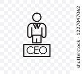 executive manager vector linear ...   Shutterstock .eps vector #1227047062