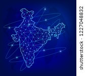 global logistics network...   Shutterstock .eps vector #1227048832