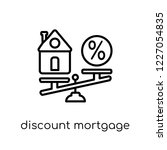 discount mortgage icon. trendy... | Shutterstock .eps vector #1227054835