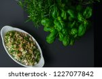 white salad also known as... | Shutterstock . vector #1227077842